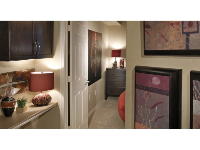 The Residences at Village Stadium Apartments in Surprise, AZ | Drysdale Hallway