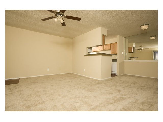 Bar Harbor | Apartments in Seabrook, TX | Living Area and Kitchen