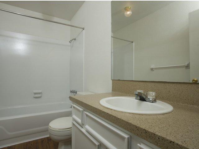 Trailwood Vilalge Apartments for Rent in Kingwood, TX | Bathroom