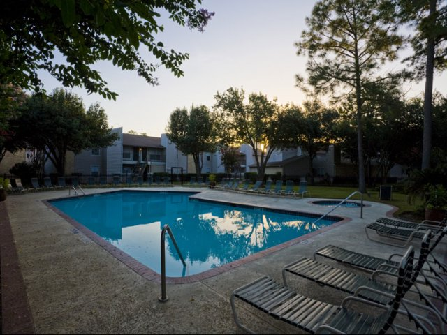 Central Park Regency | Apartments in Cypress, Texas | Pool with Courtyard
