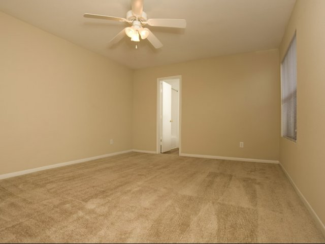 Central Park Regency | Apartments near Houston, Texas | Bedroom with Ceiling Fan