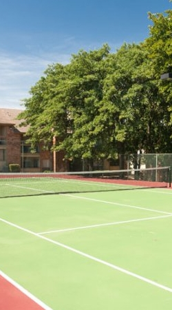 The Parks at Treepoint | Arlington, TX Apartments For Rent | Tennis Court