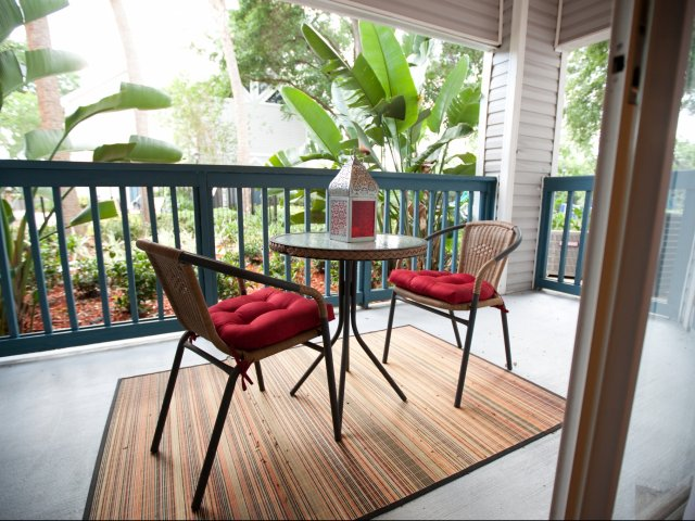 Longwood Apartment | Patio
