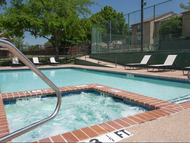 Canyon Ridge | Rockwall, TX Apartments for Rent | Heated Spa