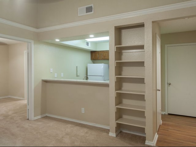 Canyon Ridge | Apartments for Rent Rockwall, TX | Built-in Bookshelves