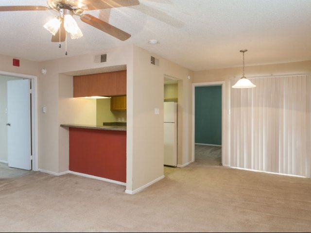 Springfield | Apartments for Rent in Mesquite, TX | Living Room and Kitchen