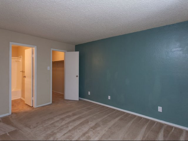 Springfield | Apartments for Rent in Mesquite, TX | Bedroom with Bathroom and Closet