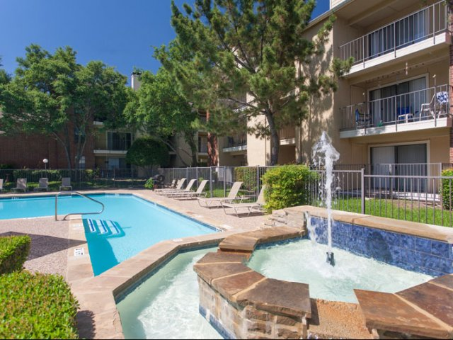Springfield | Apartments for Rent in Mesquite, TX | Heated Spa