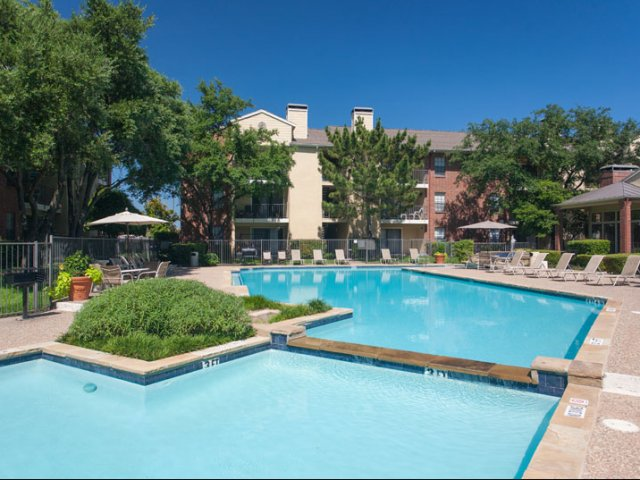 Springfield | Apartments for Rent in Mesquite, TX | Split Level Tropical Pool