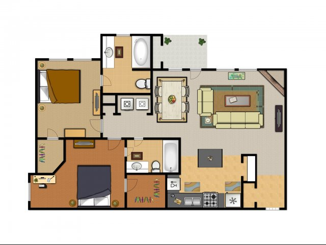 2 bed 2 bath apartment in arlington tx rock ridge - 1 bedroom apartments in arlington tx ...