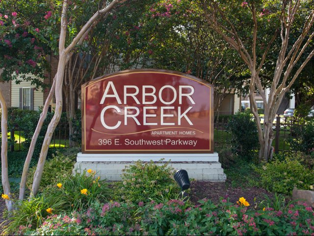 Arbor Creek | Apartments for Rent in Lewisville, TX | Entrance and Sign