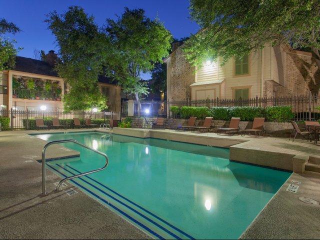 Preston Greens | Apartments For Rent in Dallas, TX | Swimming Pool Area
