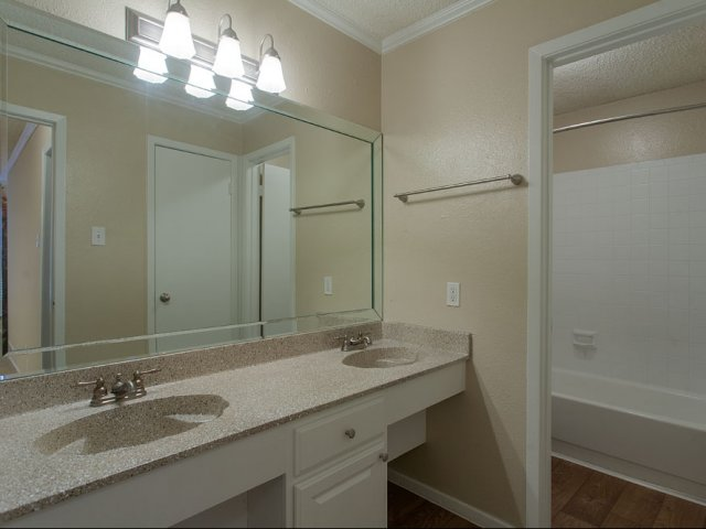 Preston Greens | Apartments For Rent in Dallas, TX | Master Bathroom