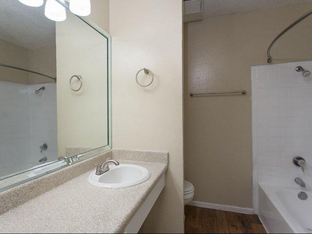 Preston Greens | Apartments For Rent in Dallas, TX | Bathroom