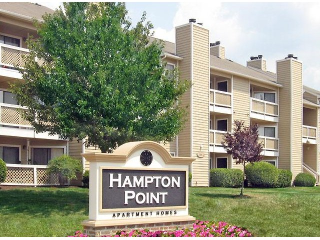 Hampton Point - Silver Springs Maryland - Front Signage