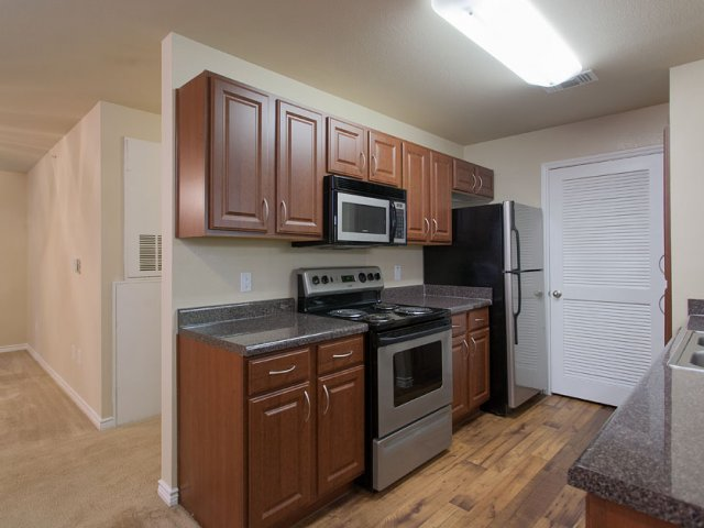 Apartments For Rent at The Gables of McKinney, TX | Kitchen Counters and Appliances