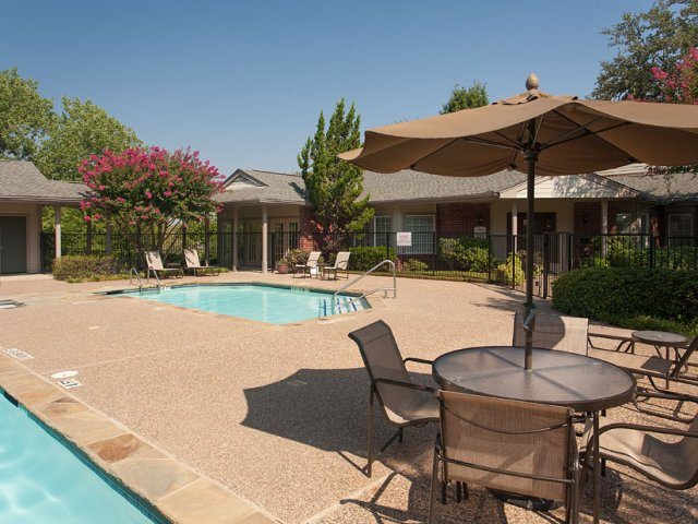 Apartments For Rent at The Gables of McKinney, TX | Sundeck Surrounding Pool