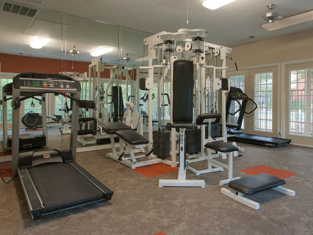 Apartments For Rent at The Gables of McKinney, TX | Fitness Equipment