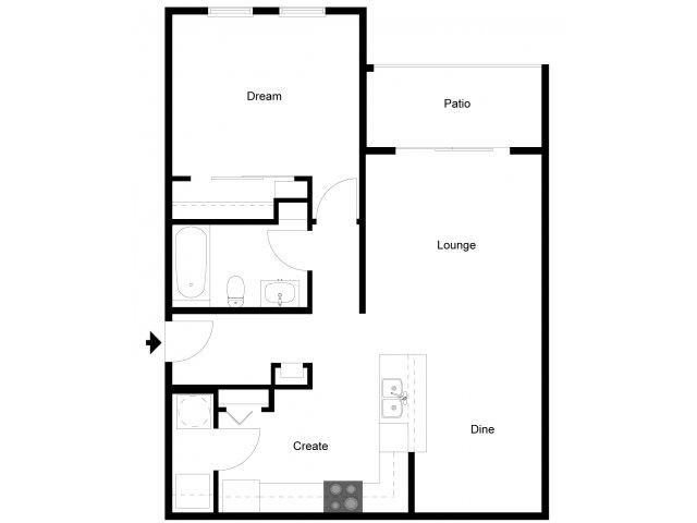 1 Bed 1 Bath Apartment In Daytona Beach Fl Andros
