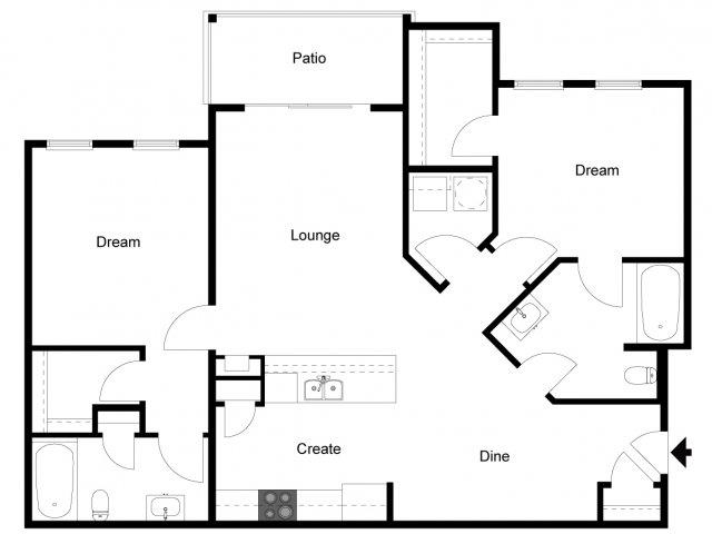 2 Bed 2 Bath Apartment In Daytona Beach Fl Andros