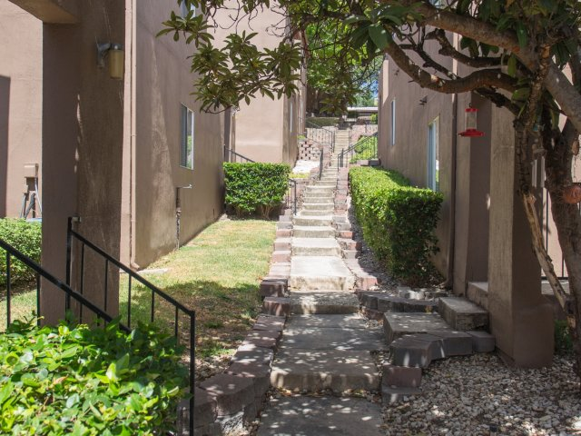 Costa Del Sol | Apartments for Rent San Antonio, TX | Exterior Stairs