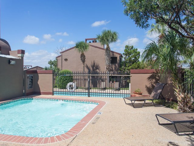 Costa Del Sol | Apartment Rentals San Antonio, TX | Pool with Sundeck