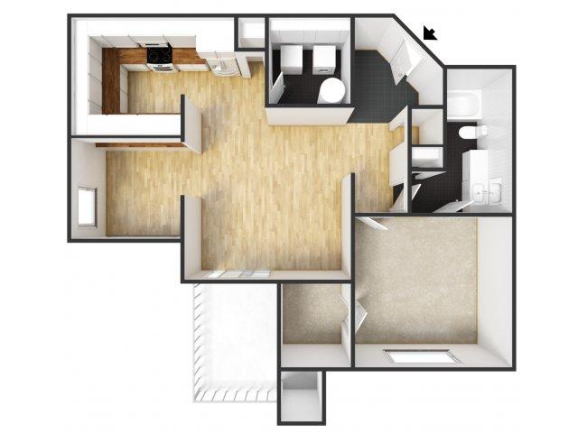 bath apartment in mesquite tx landmark at courtyard villas apartment