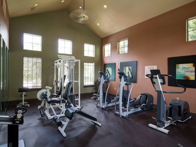 The Retreat at Eldridge Apartments for Rent in Houston, TX | Fitness Center