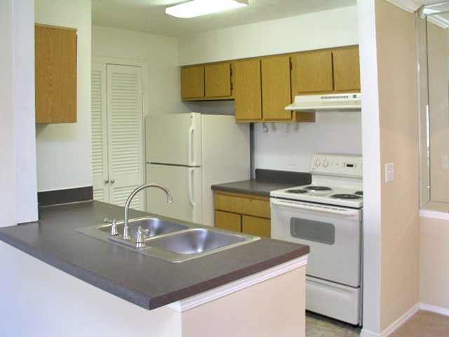 Windsor Park Apartments for Rent in Hendersonville, TN | Kitchen Counter and Sink