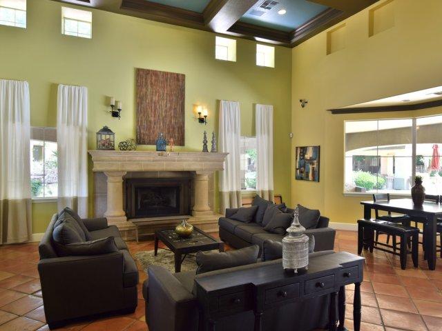 Sierra Foothills | Phoenix, AZ Apartments For Rent | Leasing Center Lounge