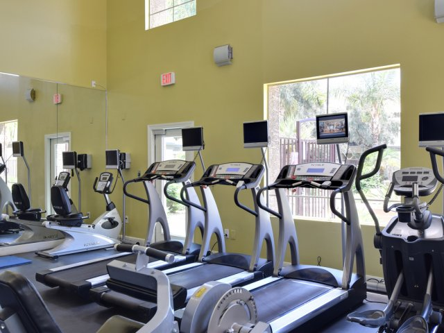 Lumiere Chandler Condos | Apartments For Rent in Chandler, AZ | Treadmills in Fitness Center