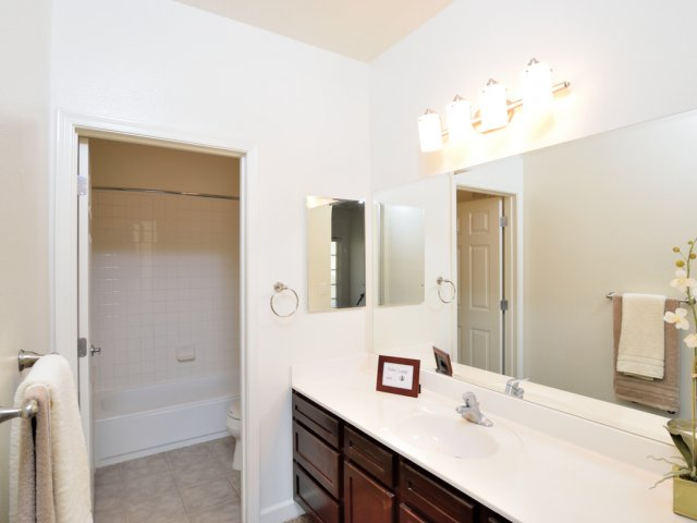 Lumiere Chandler Condos | Apartments For Rent in Chandler, AZ | Spacious Bathroom