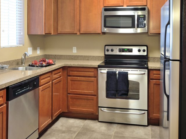 Lumiere Chandler Condos | Chandler, AZ Apartments For Rent | Kitchen and Appliances