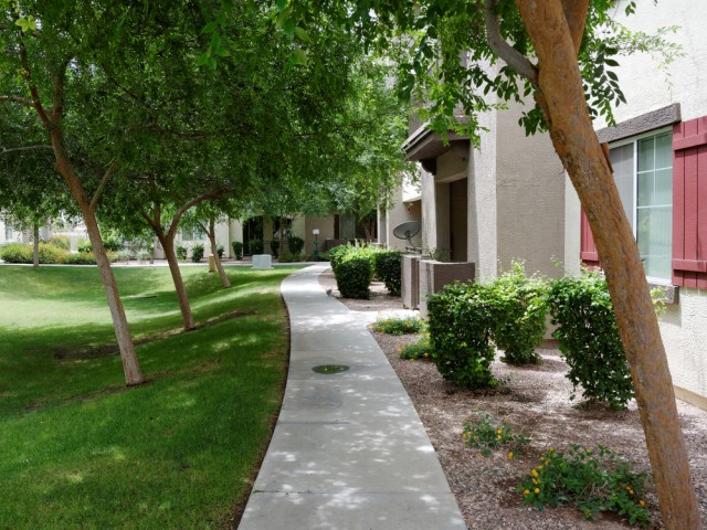 Waterford at Peoria Apartments for Rent in Peoria, AZ | Walkway