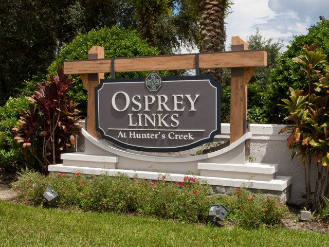 Osprey Links at Hunter's Creek | Apartments for Rent in Orlando, FL | Front Entrance