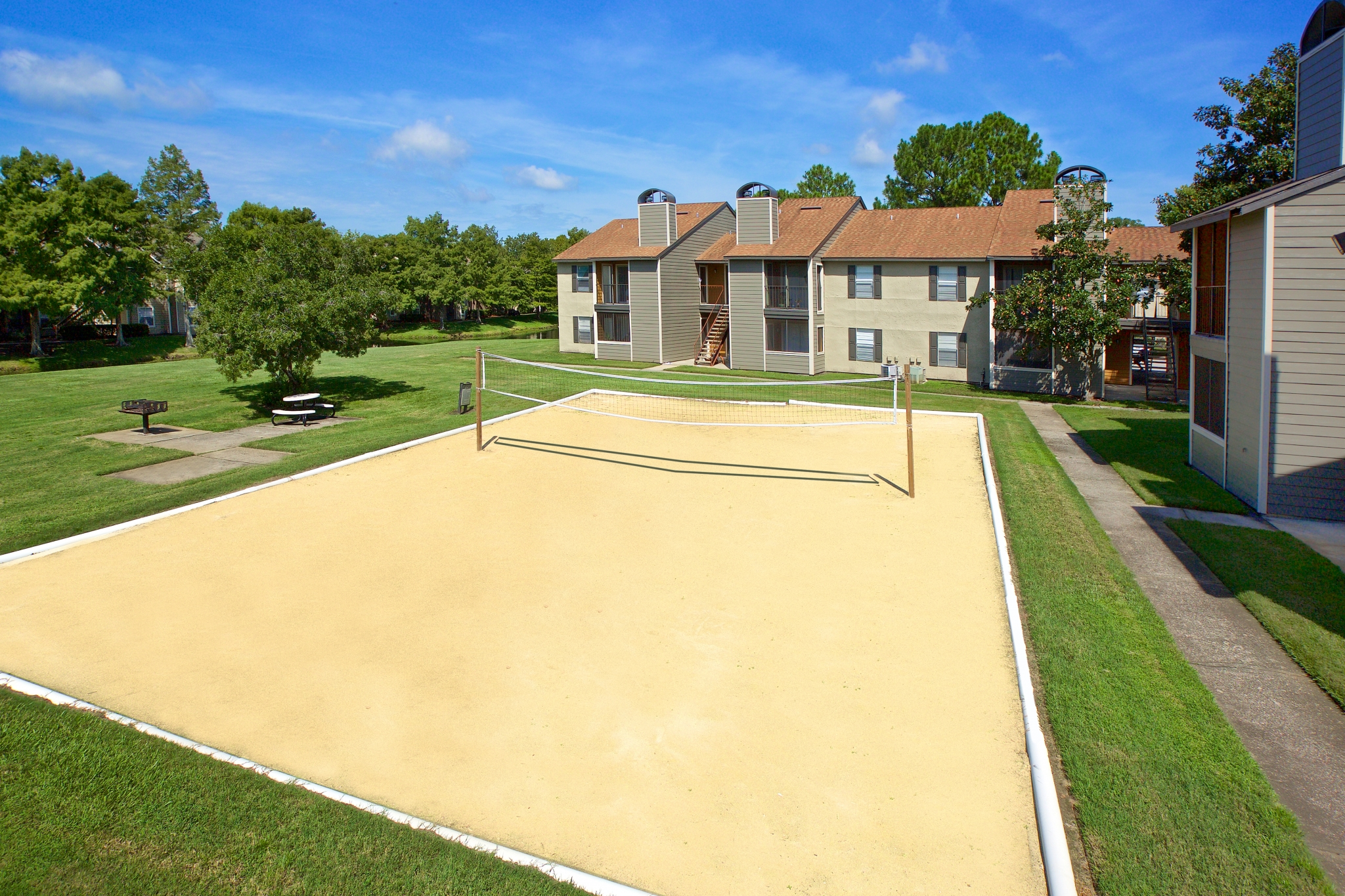 Bentley Green | Apartments for Rent Jacksonville, Florida | Sand Volleyball Court