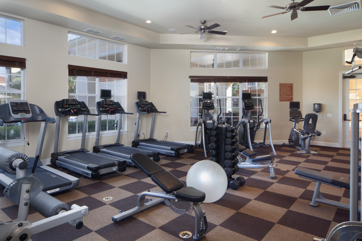 Bella Apartments - Kissimmee, Florida - Strength and Cardio Center with Free Weights