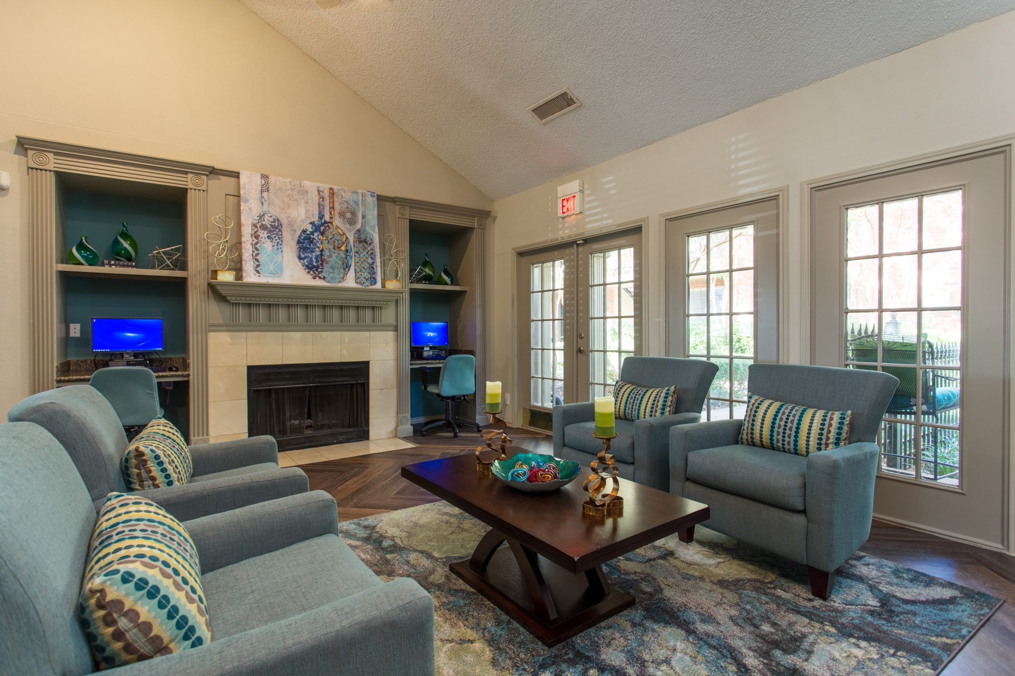 Summers Crossing Apartments for Rent in Plano, TX | Large Resident Clubhouse