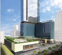Hines and Laramar Group Open Dock Street Flats Leasing Center in Minneapolis's North Loop