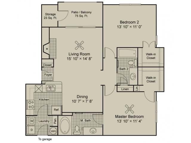 Angelico 2 bedroom 2 bath
