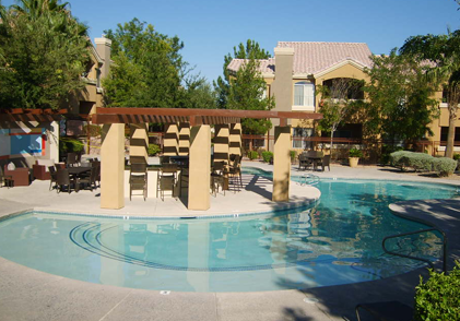 Luxury Swimming Pool at Our Apartments in Las Vegas