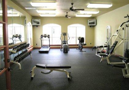 Luxury Apartment Fitness Center