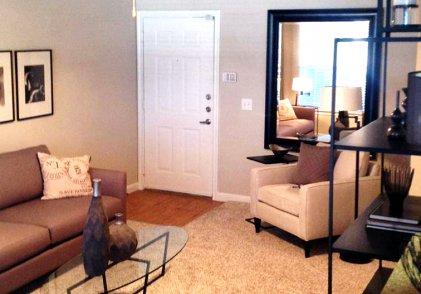 East Houston Apartment Living Room