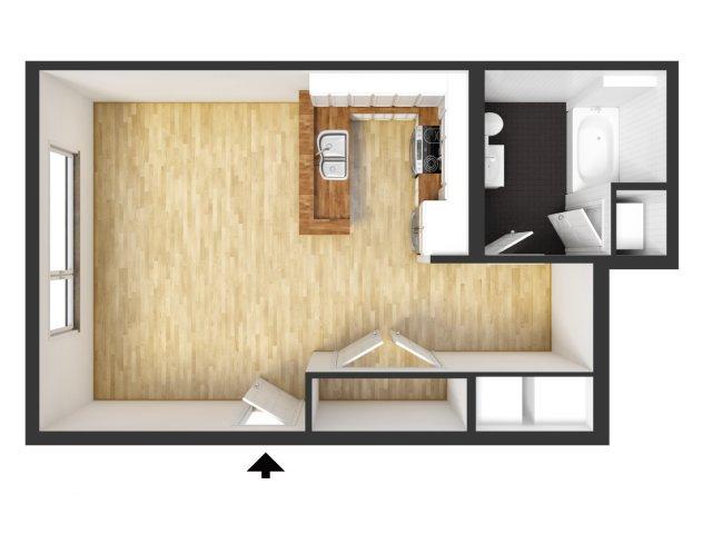 Studio Apartment Floor Plans 3d. 2D Floor Plan image for the Studio of Property Kavela Brochure apartment  nickbarron co 100 Apartment Images My Blog