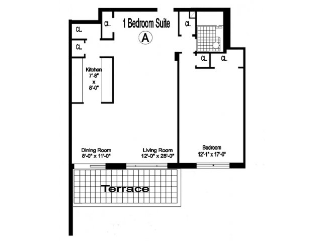 River House 1 Bedroom Apartment