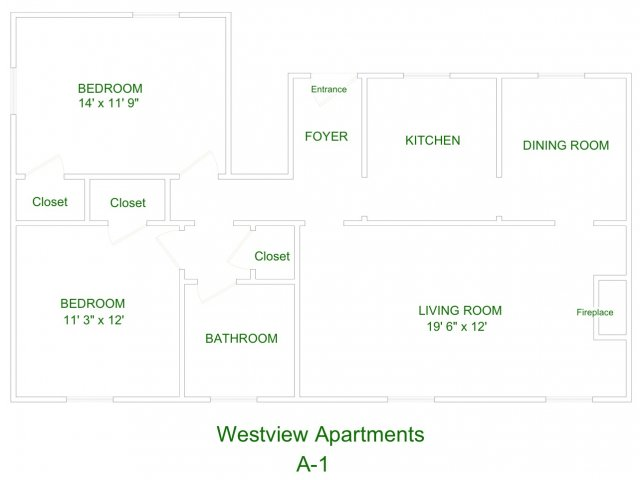 Westview Apartment A1