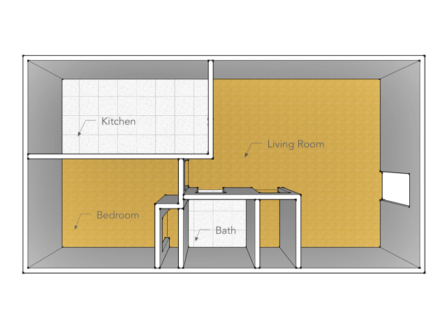 One Bedroom Type A
