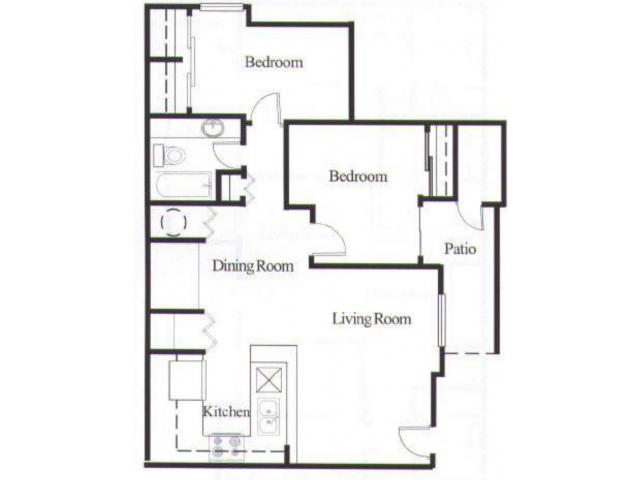 Avalon Hills Apartments 1 2 Bedroom Floor Plans