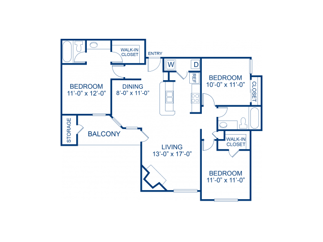 Bella Solara Apartments 1 2 3 Bedroom Floor Plans Las Vegas Nv