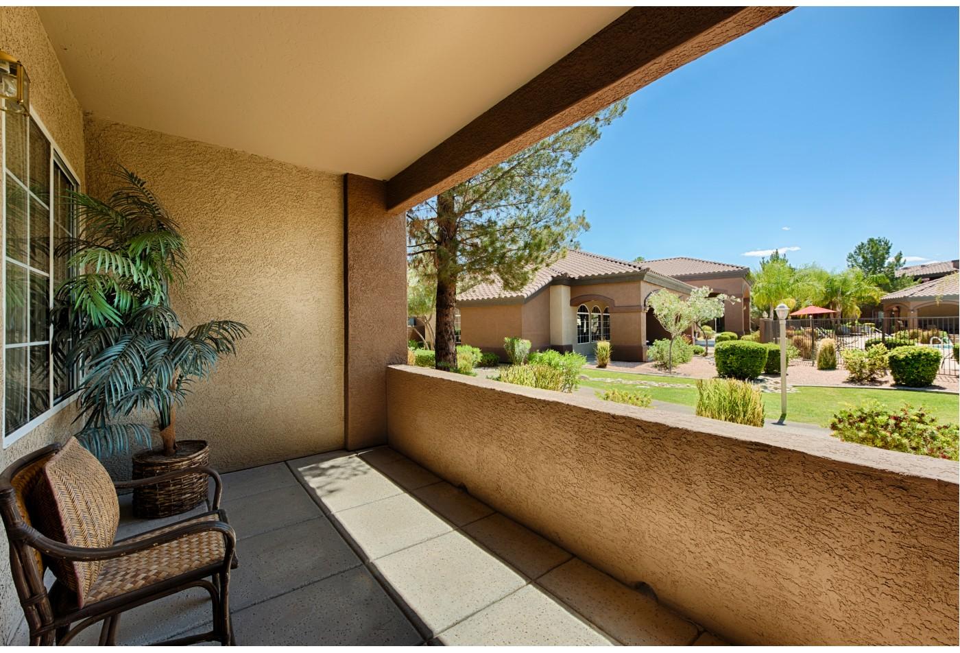 Springs at Silverbell Apartments Tucson, AZ unit balcany